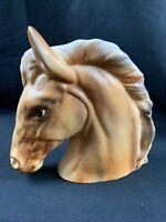 Vintage Napcoware HORSE HEAD PLANTER #C5568 Japan Palomino