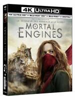 Mortal Engines [4K Ultra HD Digital + 3D blu ray + 2D] précommandé 17 avril