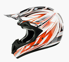 AIROH JUMPER STING MOTOCROSS HELMET GOLD STAMPED APPROVED