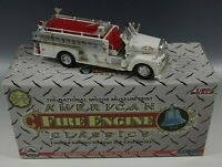 CORGI AMERICAN FIRE ENGINE 1962 SEAGRAVE FIRE PUMPER TRUCK LE. DIE CAST MIB 1:50