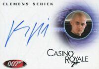James Bond in Motion 2008 Clemens Schick as Kratt Autograph Card A103