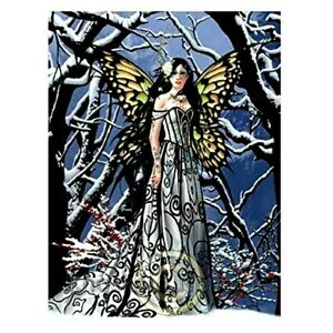 NENE THOMAS HEART OF ICE FANTASY FAIRY QUEEN JIGSAW PUZZLE & COLOR POSTER 750 PC