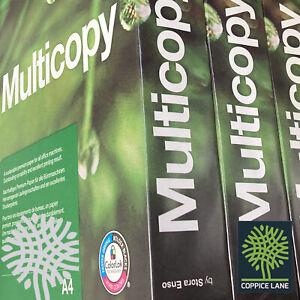 Multicopy Original A4 Lightweight Card 160gsm FSC Paper White - Inkjet & Laser