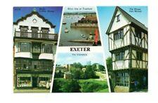 Devon - Exeter - Multiview Postcard