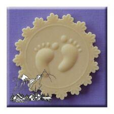 Baby Piedi Sugarcraft Cupcake Topper Stampo ideale per doccia da stampi alfabeto