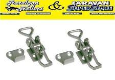 2x small overcentre over centre latch toggle fastener for trailer, toolbox  M1