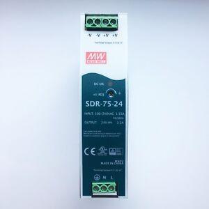 MEAN WELL SDR 75-24 3,2A LED Netzteil 75W 24V neu
