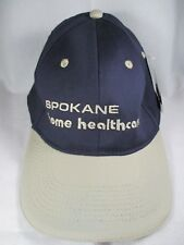 5c1bedb4f7c Spokane Home Healthcare Blue Stretch L XL Baseball Cap Hat New With Tags
