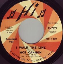 ACE CANNON I Walk The Line ((**NEW-UNPLAYED 45 DJ**)) from 1966