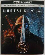 Mortal Kombat (4K UHD + Blu-ray + Digital, Slipcover, New & Sealed)