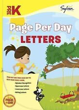 Pre-K Page Per Day: Letters Sylvan Page Per Day Series, Language Arts