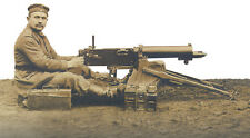 WW1 German MG08/15 & MG08  Maxim Machine Gun Training Charts - Full Set of 5