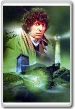 Tom Baker – Doctor Who Autographed Preprint Signed Photo Fridge Magnet