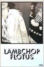 LAMBCHOP Flotus 2017 Ltd Ed RARE New Poster +FREE Alt Indie Pop Dance Poster!