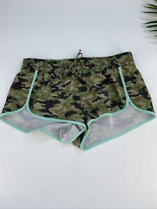 No Boundaries Women's Junior's Camouflage Running Athletic Shorts Size M 7/9 #26