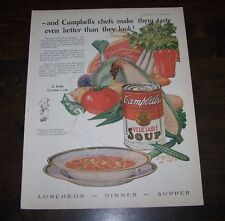 Lot of 2 VINTAGE ORIG ADS - CAMPBELL'S, DJER-KISS- Pictorial Review - 1925