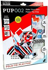 Paper Punk 3D Paper Building Model, Dog  PUP002 - Build Your Own Toy Dog
