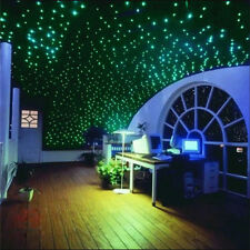 200pcs Glow In The Dark 3D Star Moon Stickers Home Wall Baby Bedroom Decal DIY