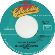 "CREEDENCE / CCR - Bad Moon Rising 7"" 45"