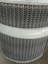 "USED PLASTIC CONVEYOR BELT 48'x 15"""