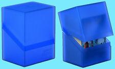 ULTIMATE GUARD BOULDER SAPPHIRE Standard Size DECK CASE 80+ NEW Card Storage Box