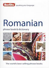 Berlitz Romanian Phrase Book & Dictionary *IN STOCK IN MELBOURNE - NEW*