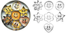 CORTAPASTA 7x ausstecherform cookie sonrises cortapastas SMILY cutters decopoirs
