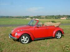 VW Käfer Cabrio Verdeck 1302 1303 1500 Einbau Anleitung inkl. Arbeitsschritte