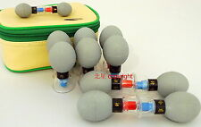 Haci Classic 12 Cups set Cupping Magnetic Acupuncture Suction Chinese NEW