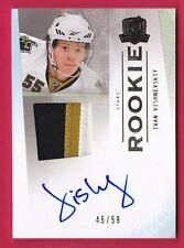 IVAN VISHNEVSKIY RC 09-10 UPPER DECK THE CUP GOLD 3CLR PATCH AUTO #45/59