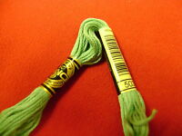 DMC coton à broder 2 écheveaux  coton mouliné 117 NEUF 6 fils numéro 503