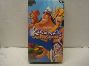 Walt Disney's Kronk's New Groove (2005 RARE VHS) BRAND NEW