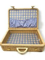American Girl Doll Bitty Baby Wicker Suitcase