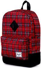 Backpack Girl / or Herschel Kids Girl's Boy's Heritage Red Playd 253.6oz