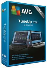 AVG PC TuneUp 2018 UNLIMITED / 2Jahre 1 3 5 PC Geräte Utilities Key ESD Download