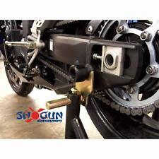 Yamaha 1998-14 YZF-R1 Shogun Swingarm Spools  - Black
