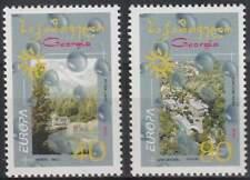 Georgia postfris 2001 MNH 376-377 Du+Do - Europa (k115)