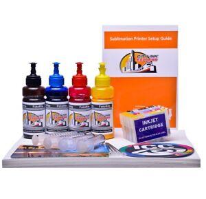 Sublimation printer A4 starter bundle package non oem Epson wf-2810