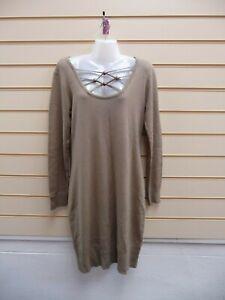 Bodyflirt Ladies Taupe Size Medium -14 Jumper Dress  BNWOT  G030