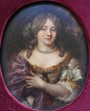 School of Nicolaes Maes, Portrait of a Lady, Oil on Panel, Oval Painting