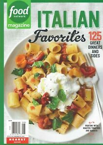 Food Network Magazine 2021 Great Dinners and Sides ITALIAN FAVORITES