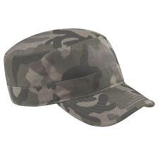 Camouflage Field/Jungle/Urban Army Cap-Camo Hat B33 Military Beechfield Cotton