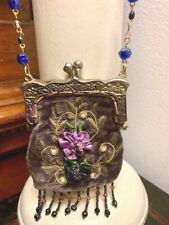 ANTIQUE VICTORIAN PURSE, HANGING  POCKET OR RETICULE BAG