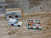 Lego 600 Ambulance - Vintage Legoland 1971 - Complete With Box and Instructions