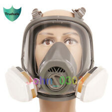 7 Pcs Suit Anti-fog For 3M 6800 Full Face Respirator Gas Mask Facepiece Painting