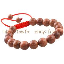 New 10MM Gold Sand Stone Gem Tibet Buddhist Prayer Beads Mala Bracelet