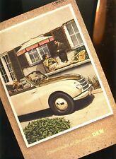 """DKW Cabrio 1950 historischer Reklamedruck F. HENLE Foto v. Diego Rivera """"NIEVIS"""""""