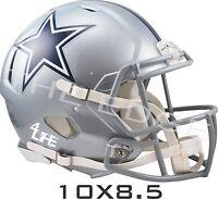 "Dallas Cowboys 4Life 10""x8.5"" Car Truck Window Wall Vinyl Glossy Helmet Decals"