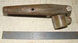 """Vintage Bronze Rudder Head/Tiller Strap Assembly, fits 1"""" Post"""