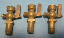 VINTAGE BRASS FUEL PRIMING CUP VALVE PACKARD CADILLAC BUICK 1925 1928 1929 1930